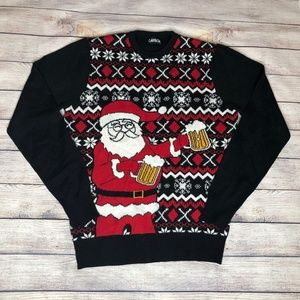Carbon Ugly Christmas Sweater Size M